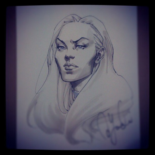 davidyardin:  Emma Frost (Taken with Instagram)