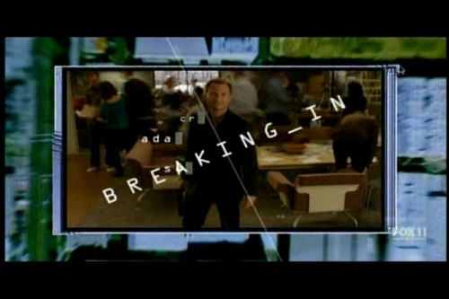 TV Show: Breaking In Episode: The Contra Club (Season 2, Episode 1) Air Date: 3/6/2012 Wrestler(s) captured: 'Rowdy' Roddy Piper (as Mr. Weller) IMDB Page: Breaking In - The Contra Club