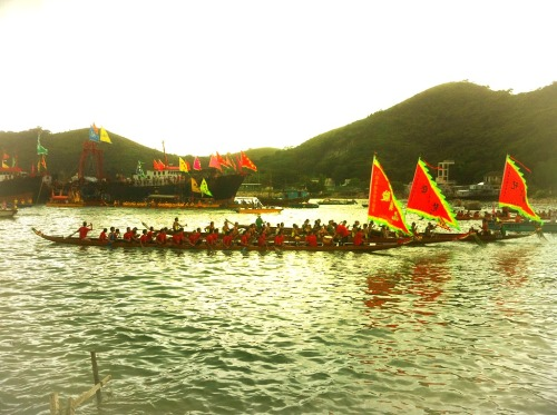 Dragon boat race- Tai O