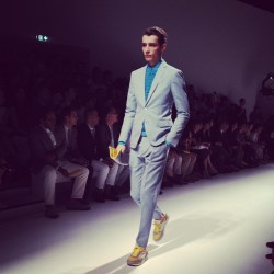 Adrien at Ferragamo. MS (Taken with Instagram)