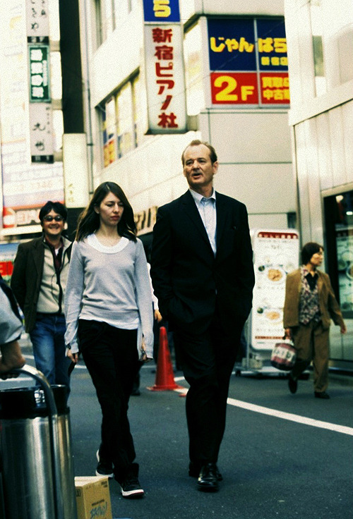 Sofia Coppola and Bill Murray (Lost in Translation)