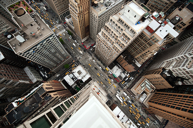 1iberated:  Intersection | NYC by navid j on Flickr.