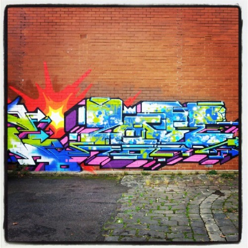 #streetart #Melbourne  (Taken with Instagram)
