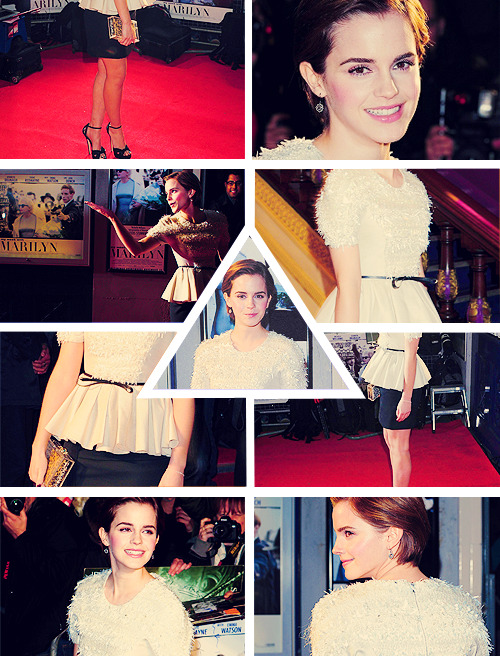top 10 outfits worn by emma watson - My week with Marilyn premier, November 20th