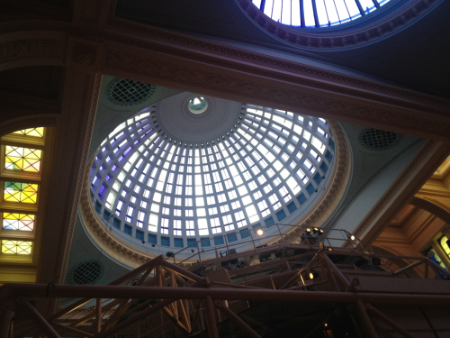 Popped into the Royal Exchange to get my architecture postcards from the Pop up modernist shop #lovearchitecture
