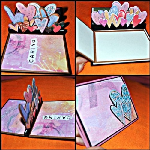 #popup #handmade #heart #card #paper #art #ig #igersmanila #yourunikxchange #yux #Philippines  (Taken with Instagram)