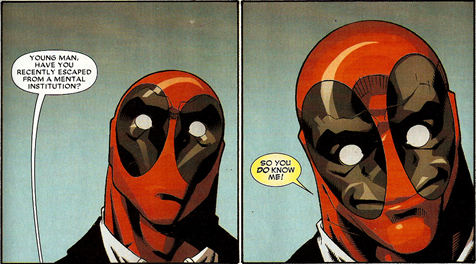 sirdefnesaur:  Deadpool: A summary.