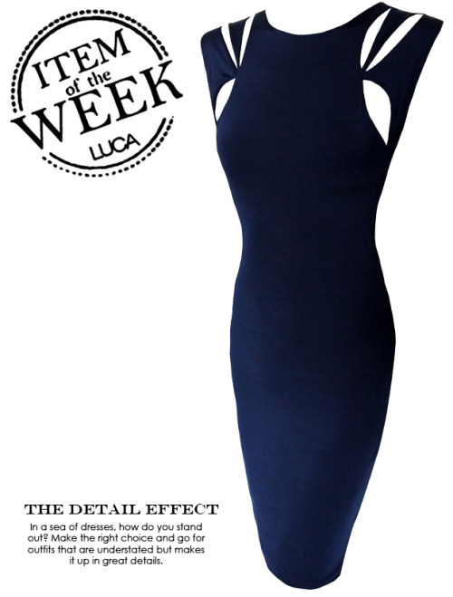 ITEM OF THE WEEK: GRACIE DRESS (P2,450)  Now available at www.shopluca.com
