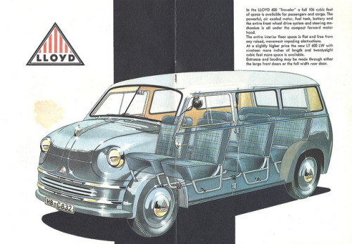 Lloyd LT-600 minivan by Hugo90 on Flickr.Lloyd LT-600 minivan