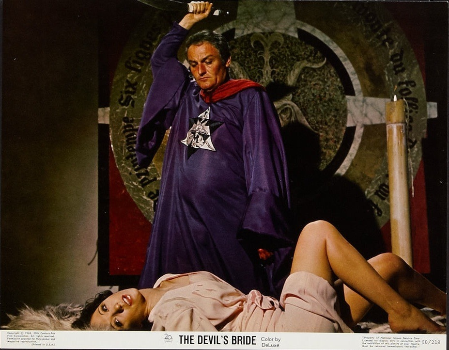beautyandterrordance:  Charles Gray and Nike Arrighi, in The Devil Rides Out.