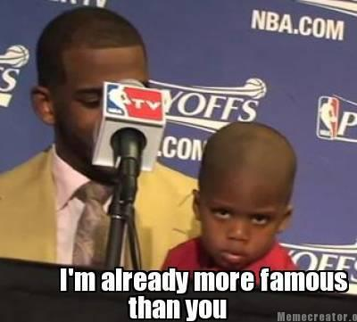 coffeebreakix:  Chris Paul's son is adorable :)