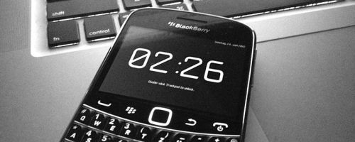 "Yesterday, I open-sourced ""Lock With A Clock""—a small BlackBerry™ application I originally had developed three years ago. As the process of setting up a build environment on Mac OS X (without using a Windows VM, or using Rosetta to run old PowerPC binaries) is somewhat dreaded, I took the liberty to fully document all necessary steps in the accompanying README file. Be sure to check out the app—it's really the best way to lock a BB against accidental key presses, et al."