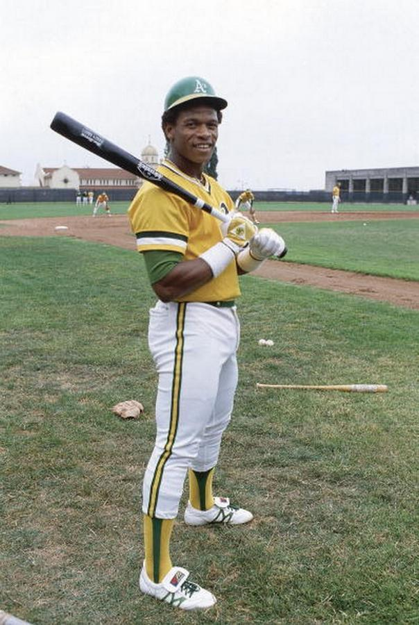 upnorthtrips:  BACK IN THE DAY |6/24/79| Rickey Henderson made his debut for the Oakland A's, and stole his first of 1,406 career stolen bases.
