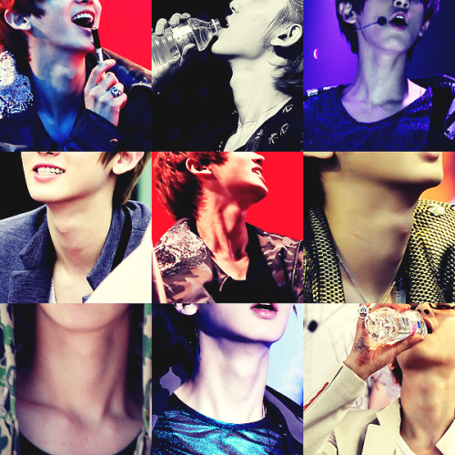 Chanyeol's sexy neck
