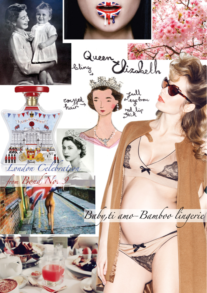 My Queen's Diamond Jubilee moodboard.