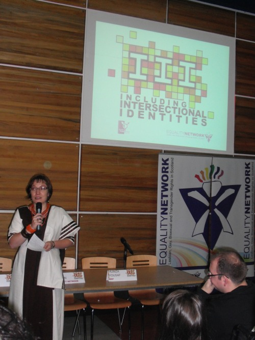 bisofcolour:  Photos from the Intersectionalities Conference in Glasgow 2012. Bisexuals of Colour held an open session where we discussed bisexuality, ethnicity and crossovers.