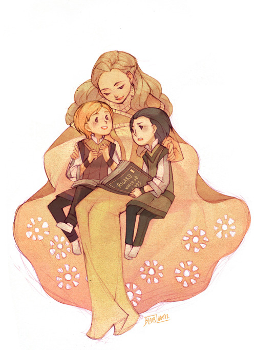 graphitedoll:  thank you Beiji for the book title!! idk, i feel like Frigga actually tries to be a good mother to Loki UNLIKE A CERTAIN OTHER PARENTAL FIGURE. //cries