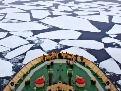 THE BIG FREEZE IceBreaker in Antarctica
