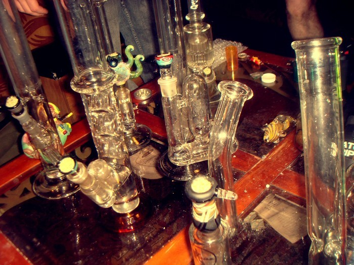 We had loads of bongs packed for 4/20!
