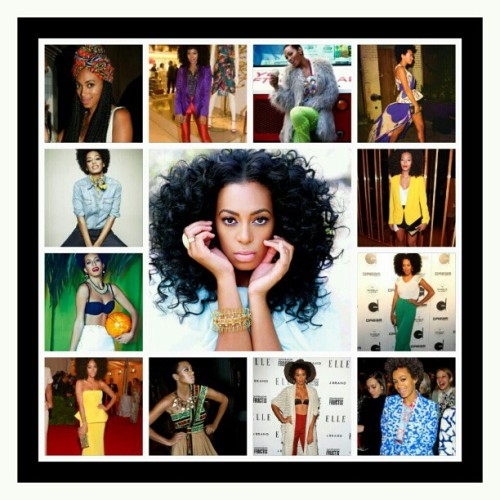 "Happy Birthday wishes to one of my favorite ""Style Stars"", Solange Knowles! She has definitely found her fashion voice and sings for all to hear :-) (Taken with Instagram)"