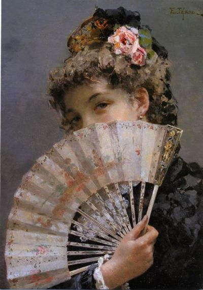 a-l-ancien-regime:  Edoardo Tofano Lady with a Fan