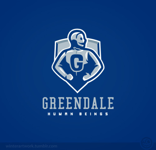 "Greendale Human Beingsyou can see my GHB mascot design at the Pixel Drip ""Six Seasons and a Movie""  art show!Behance   •  Twitter   •   Facebook   •  Flickr   •  Tumblr"