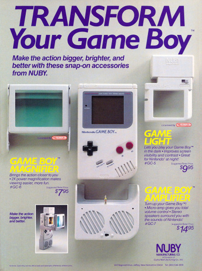 I miss my game boy