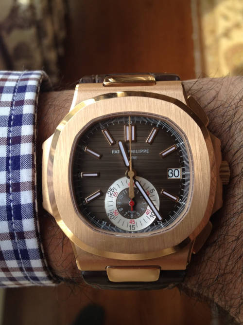 dailyluxury:  One of the best watches.