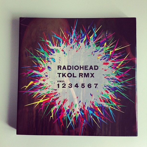 #RADIOHEAD #TKOLRMX #VINYL #1234567 (Taken with Instagram at Chez Ben)