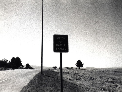happyrockisabook:  warning sign, oregon, 2000