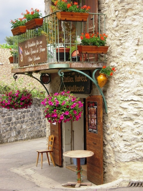 Medieval Village, Yvoire, France photo by arican