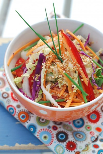 VEGAN DAILY RECIPE:  Summer Coleslaw