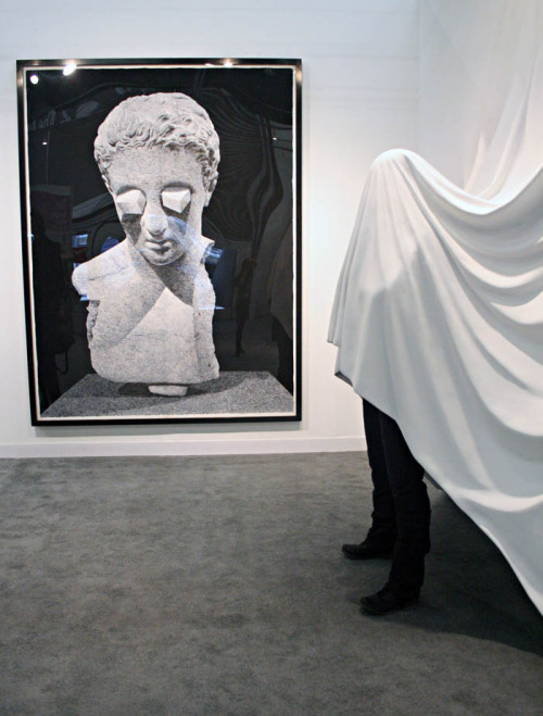 Daniel Arsham BC, 2011 Draped Figure, 2011. (via)