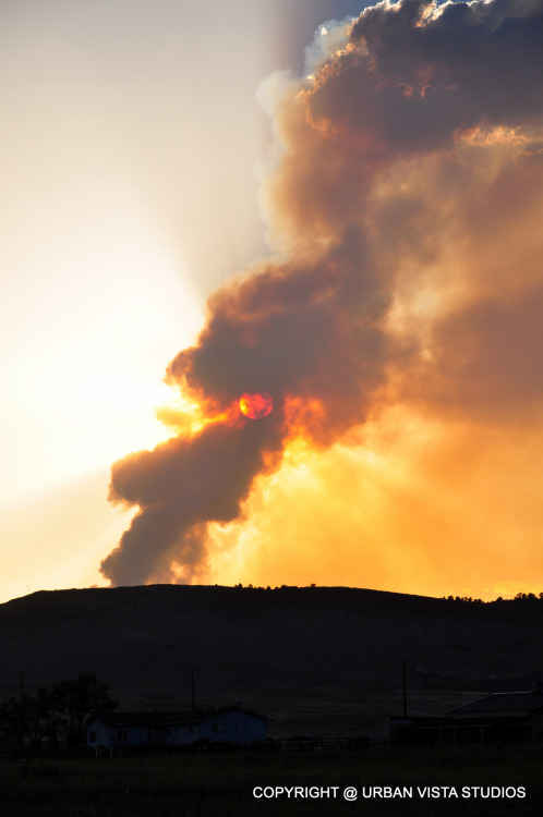 High Park Fire, Fort Collins, Colorado - 81,000 acres and counting…