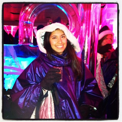 Chilly, chilly! 😜🍸🗻 #Icebar #London #COLD (Taken with Instagram at ICEBAR BY ICEHOTEL London)