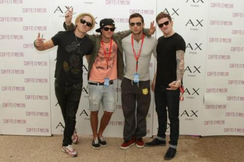 thearianamcfly:  McFly at Blackpool Tower Headland - 24/06/2012