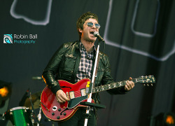 Noel Gallagher at Isle of Wight Festival 2012