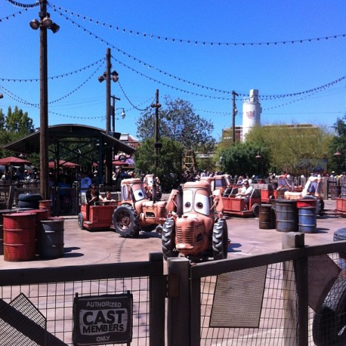 Cars Land / on Instagram http://instagr.am/p/MRAX39lAxg/