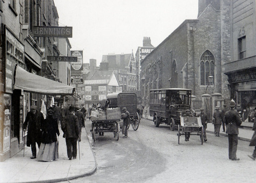 lostsplendor:   Bristol, 1914 (by brizzle born and bred)