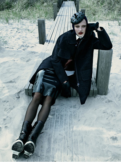 Chic Mood by Emma Summerton for Vogue Italia August 2011