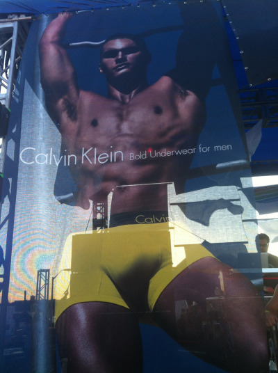 Showing our true colors, Calvin Klein Underwear Bold, NYC Pride, June 2012