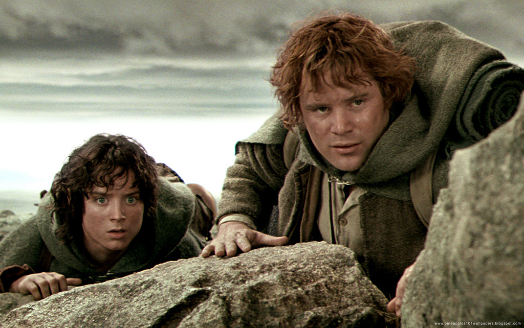 samwise Gamgee! AND Frodo Baggins!