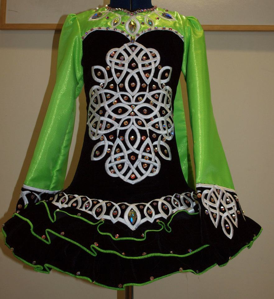irishdance:  Dress of the day by: Celtic Star