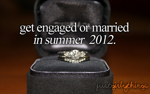 Just Engaged :$ 12-7-2012