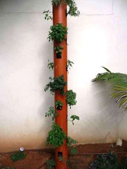 mixgreen:  vertical planter via indulgy.com