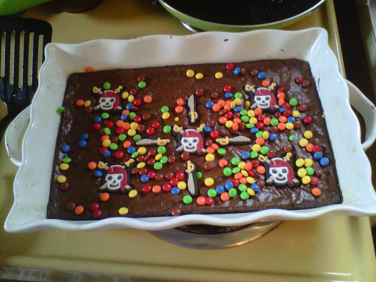 Isaac's birthday brownies. :)