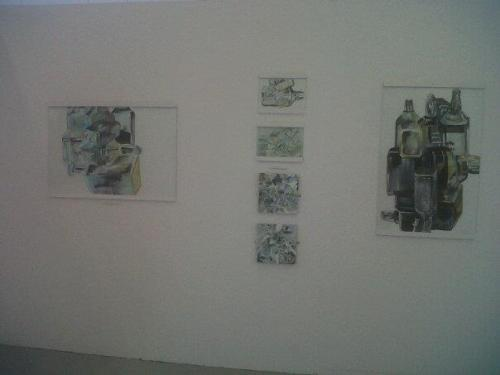 My exhibition pieces :)