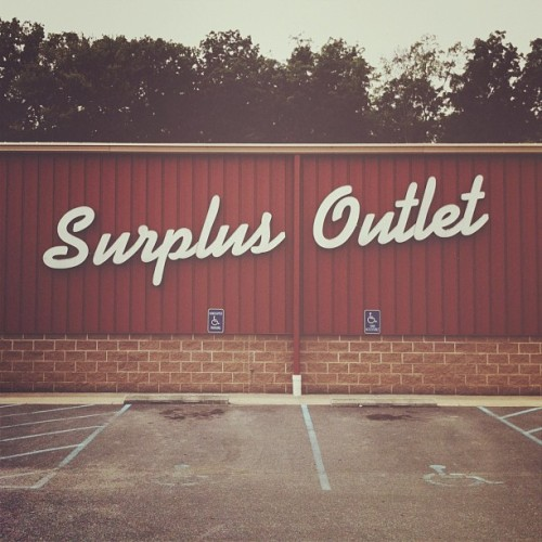 Surplus. by neuarmy http://instagr.am/p/MRBlS3omzQ/
