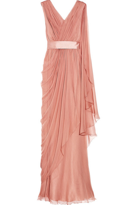 What Would Shae Wear? Alberta Ferretti - Draped silk chiffon