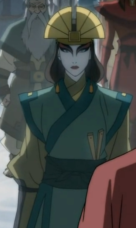 amon-bender:  Can we take a small moment to appreciate just how beautiful Kyoshi is?